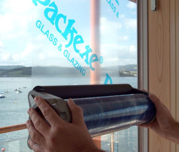 Packexe glass and glazing protection film